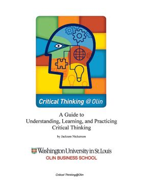 Critical thinking seminar outline