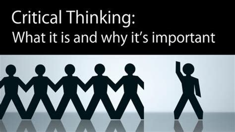 Critical thinking seminar outline
